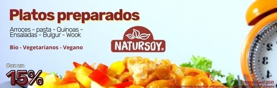 Mayo 2021 Platos preparados Natursoy