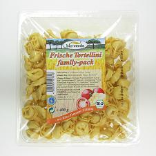 Tortellini bio con Queso y Tomate 400gr Bioverde
