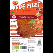 Vege Filet Tomate y Avena 200gr Nutrialiments