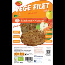 Vege Filet Zanahoria y Manzana 200gr Nutrialiments