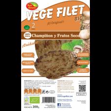 Vege Filet Champiñón y Frutos secos 200gr Nutrialiments