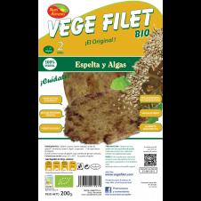 Vege Filet Espelta y Algas 200gr Nutrialiments