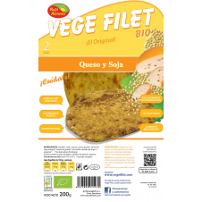 Vege Filet Queso y Soja 200g Nutrialiments