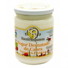 Yogur desnatado de Cabra 420ml Suerte Ampanera