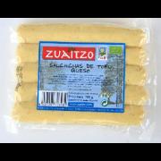 Salchichas Tofu Queso 200gr Zuaitzo