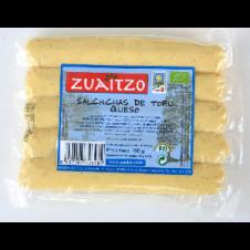 Salchichas de Tofu con Queso 200gr Zuaitzo