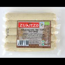 Salchichas de Tofu con Shiitake 200gr Zuaitzo