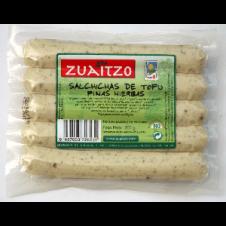 Salchicha de Tofu con Finas hierbas 200gr Zuaitzo