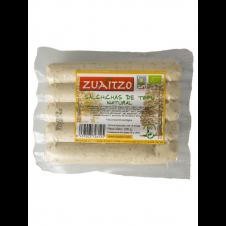 Salchicha de Tofu natural 200gr Zuaitzo