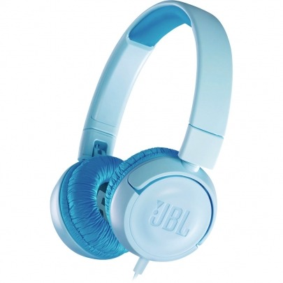 JBL JR300 - Kids Headphones - on-ear - wired - 3.5 mm jack - ice blue - for children - Headset for children with limit in decibels