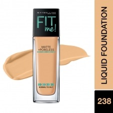 FIT ME MATTE+PORE FDN 238RICH TAN