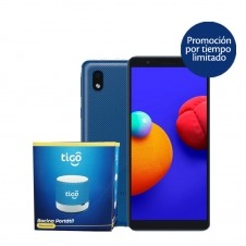 KIT TIGO SAMSUNG A01 CORE 1GB+16GB BLUE