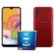 KIT TIGO SAMSUNG A01 CORE 1GB+16GB RED