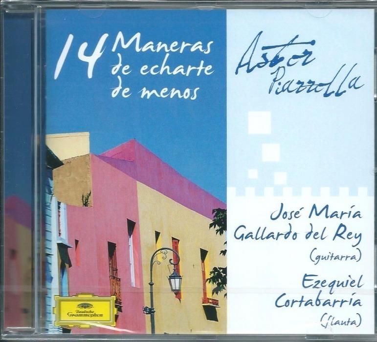CD 14 Maneras De Echarte De Menos Front