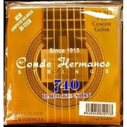740 Concert Guitar, Tensión Fuerte