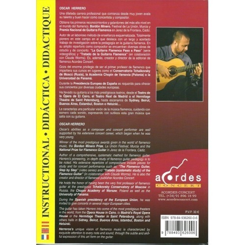 12 STUDIES FOR FLAMENCO GUITAR