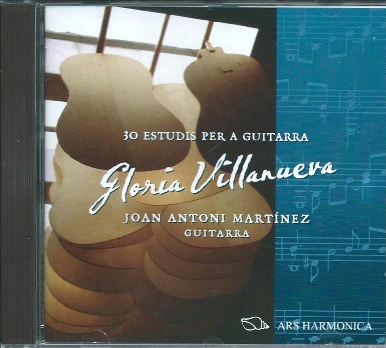 Gloria Villanueva 30 Estudfios Para Guitarra