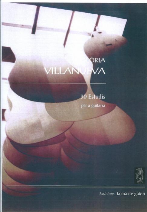Gloria Villanueva 30 Estudios Para Guitarra