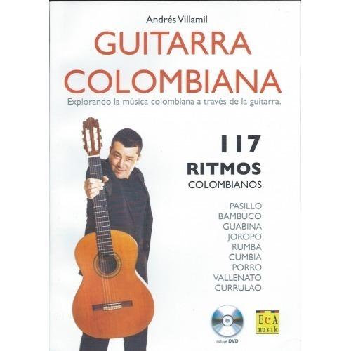 Andrés Villamil Guitarra Colombiana Libro DVD