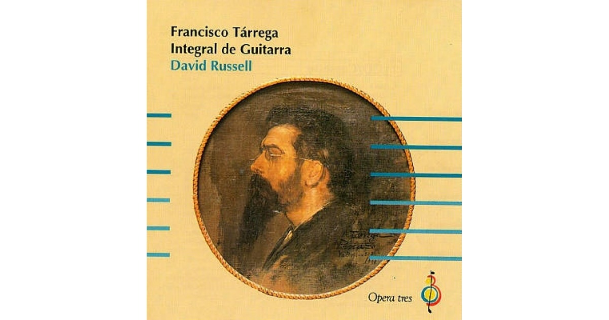 Francisco Tarrega Integral de Guitarra