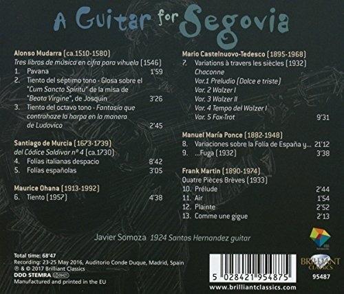 A Guitar for Segovia, Javier Somoza