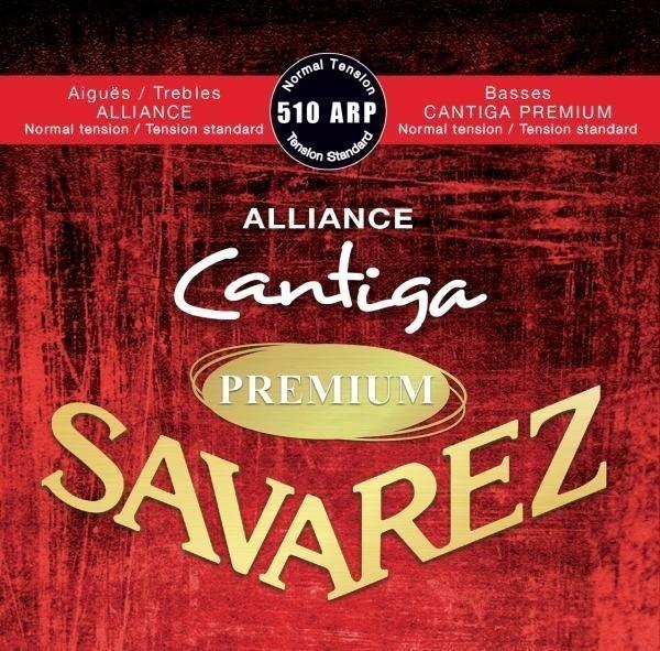 Savarez Alliance Cantiga Premium Roja 510arp