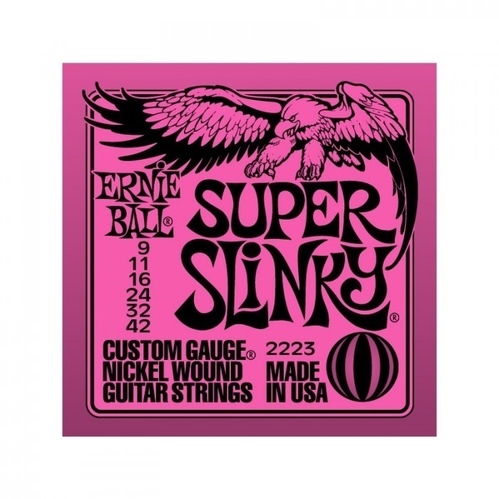 Ernie Ball 2223 Super Slinky 09-42
