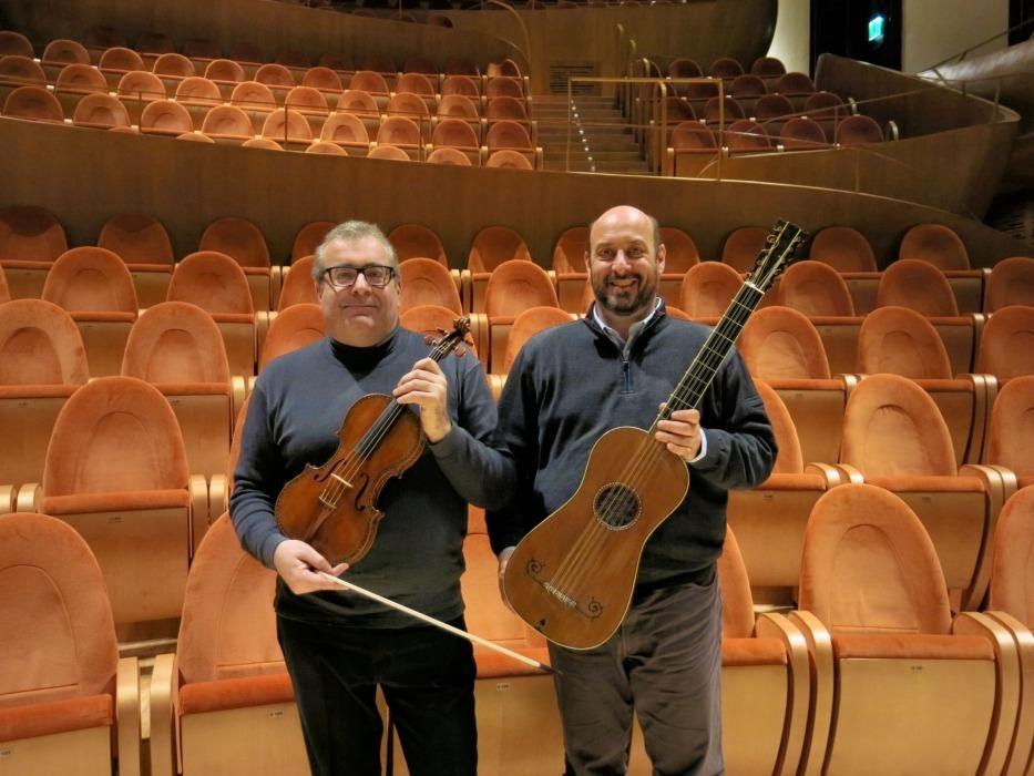 STRAVAGANZE BAROCCHE, Violin HELLIER - Guitar SABIONARI