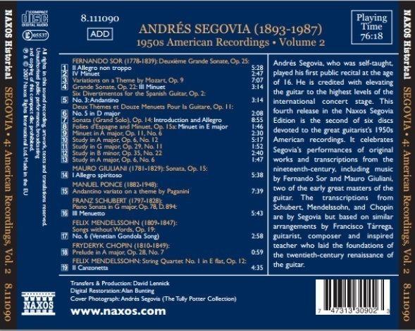 Andres Segovia Vol 2 2