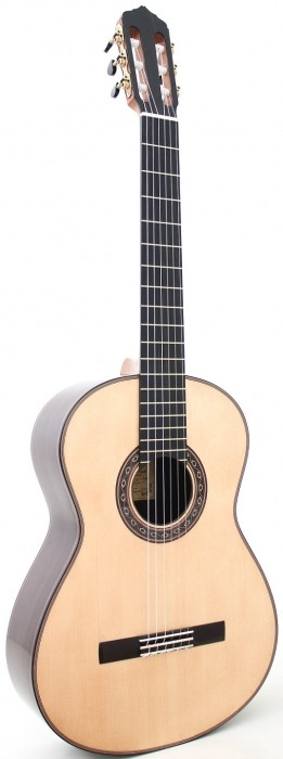 Guitarra Ana Espinosa Flamenco Negra Side