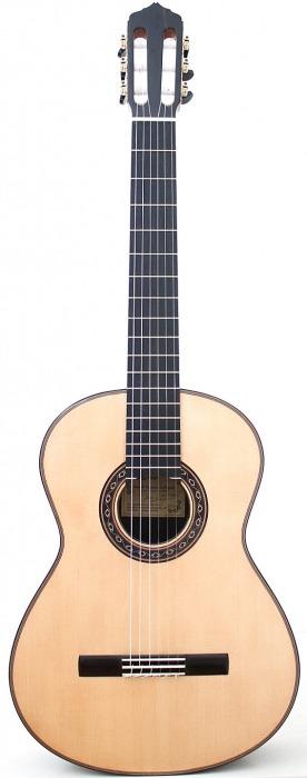 Guitarra Ana Espinosa Flamenco Negra Front