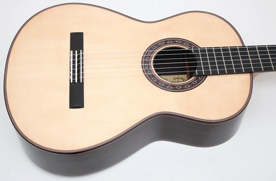 Guitarra Ana Espinosa Flamenco Negra Top