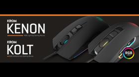 Kolt y Kenon, los nuevos ratones de Krom  con sensor Avago A3050