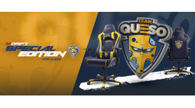 Drift y Team Queso unen sus fuerzas para presentar la silla Drift Team Queso Special Edition