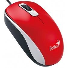Genius DX-110 - ratón - USB - rojo