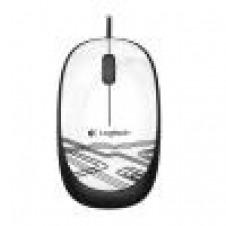 Logitech M105 - ratón - USB - blanco