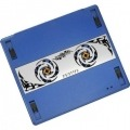 Revoltec RNC01. Notebook Cooler RNC01 Plata-Azul