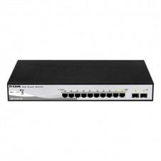 D-Link DGS-1210-10P Switch 8xGB PoE 2xSFP