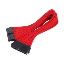 SilverStone PP07-MBR - cable alargador de alimentación - 30 cm