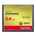 Sandisk Compact Flash Extreme CF 120MB/s, 85MB/s write, UDMA7, 64GB