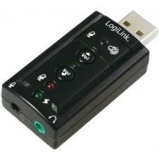 LogiLink USB Soundcard with Virtual 7.1 Soundeffects - tarjeta de sonido
