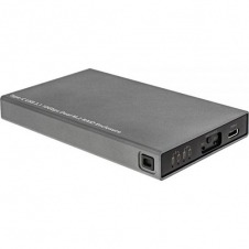 InLine 00031C. Caja externa USB 3.1. Compatible con 2x M.2. Negra