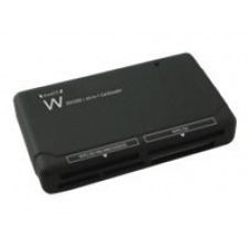 Ewent EW1050 64-in-1 Card Reader USB 2.0 - lector de tarjetas - USB 2.0
