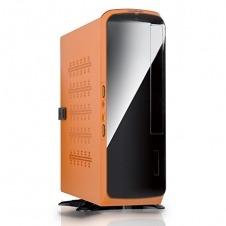 In Win BQ660 120W.Negra/Naranja Mini-ITX