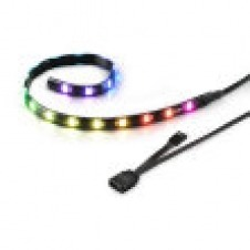 TIRA RGB LED SHARKOON SHARK BLADES 360MMX10MMX3MM 18 LEDS LONGITUD CABLE 60CM