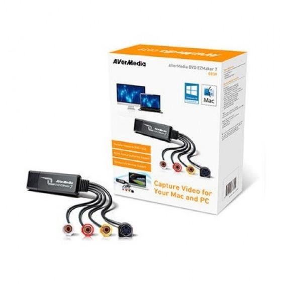 AVerMedia DVD EZMaker 7 - adaptador de captura de vídeo - USB 2.0