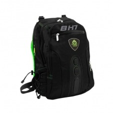 MOCHILA PORTATIL 15.6 KEEP OUT BK7G NEGRO/VERDE ASAS Y RE