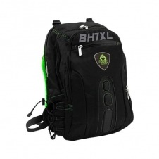 MOCHILA PORTATIL 17 KEEP OUT BK7GXL NEGRO/VERDE ASAS Y RE