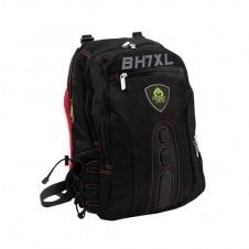 MOCHILA PORTATIL 17 KEEP OUT BK7RXL NEGRO/ROJO ASAS Y RESP