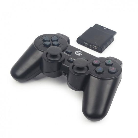 GEMBIRD JPD-WDV-01 - mando de videojuegos - inalámbrico - 2.4 GHz